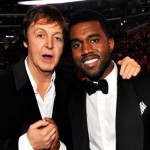 Paul McCartney și Kanye West la Gala Premiilor Grammy din 2009