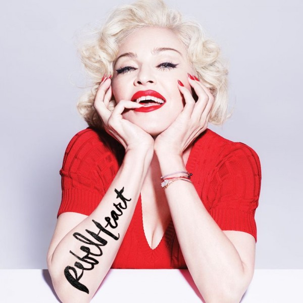"Madonna - ""Rebel Heart"" (copertă Standard Edition)"