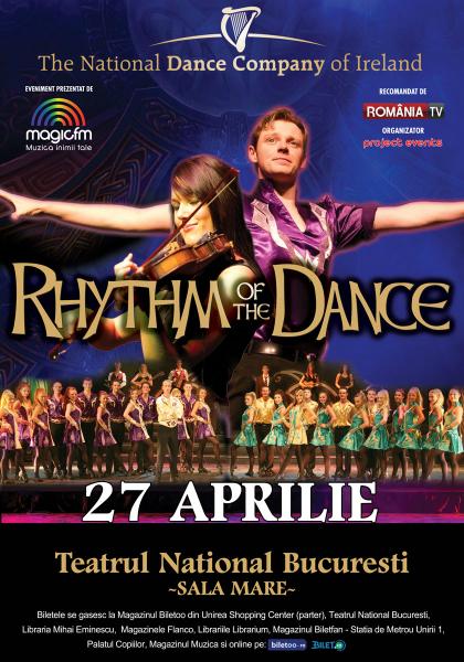 Afiș Rhytm of the dance la București 2015