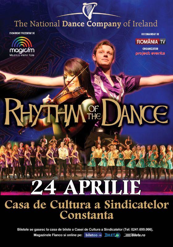 Afiș Rhythm of the Dance Constanta 2015