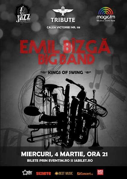 EMIL BÎZGA BIG BAND - Kings of Swing