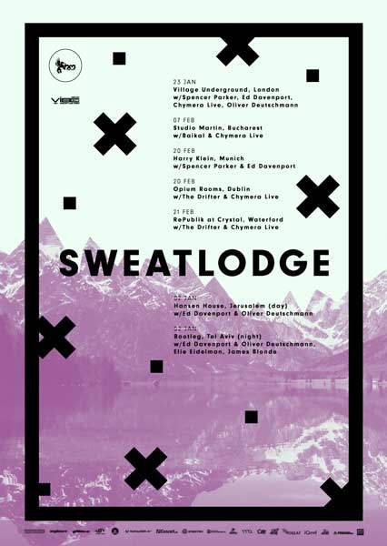 Sweat Lodge: Baikal | Chymera live