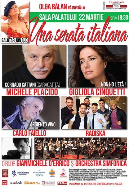 Una serata italiana: Gigliola Cinquetti şi Michele Placido