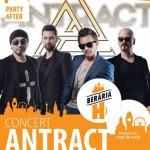 Afiş concert Antract Beraria H