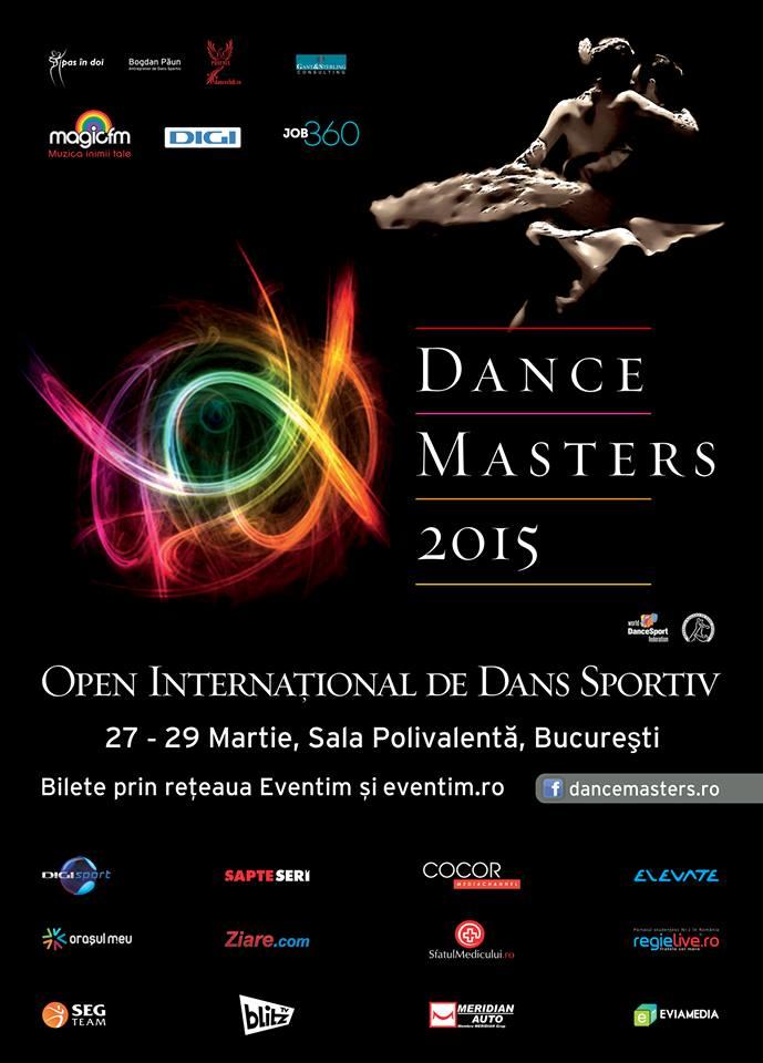 Afiș Dance Masters 2015
