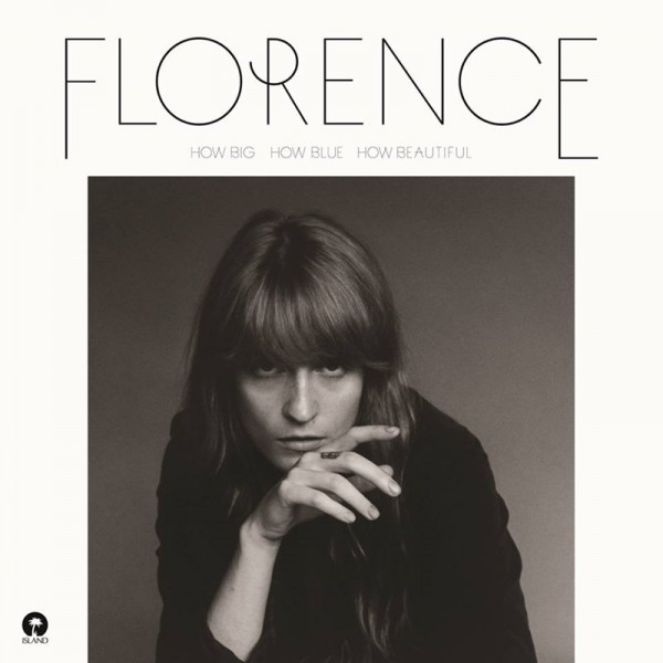 "Florence and the Machine - ""How Big, How Blue, How Beautiful"" (copertă album)"