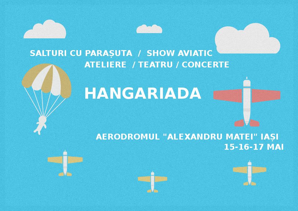 Afiș Hangariada Festival 2015