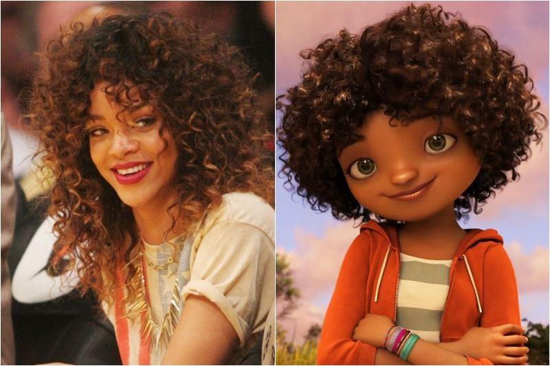 """Rihanna / Gratuity 'Tip' Tucci (personajul interpretat în animația """"Home"""")"""