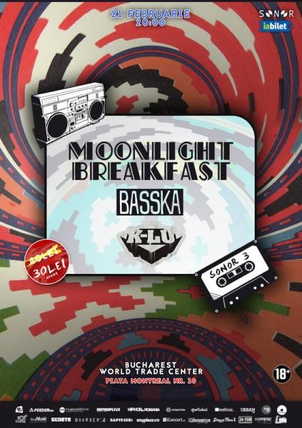 Afiș Sonor 3: Moonlight Breakfast, Basska, K-lu 21 februarie 2015