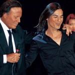 Julio Iglesias alături de fiul său, Julio Iglesias Jr.