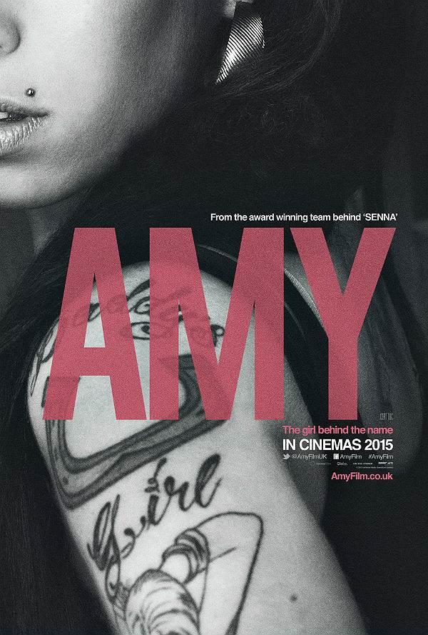 """Posterul documentarului """"Amy"""""""