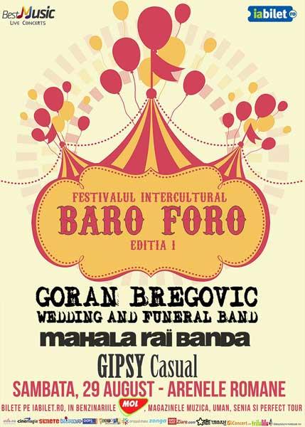 Festivalul Baro Foro cu Goran Bregovic