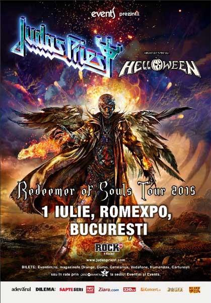 Poster eveniment Judas Priest | Helloween
