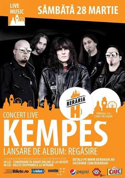 Kempes - Lansare album