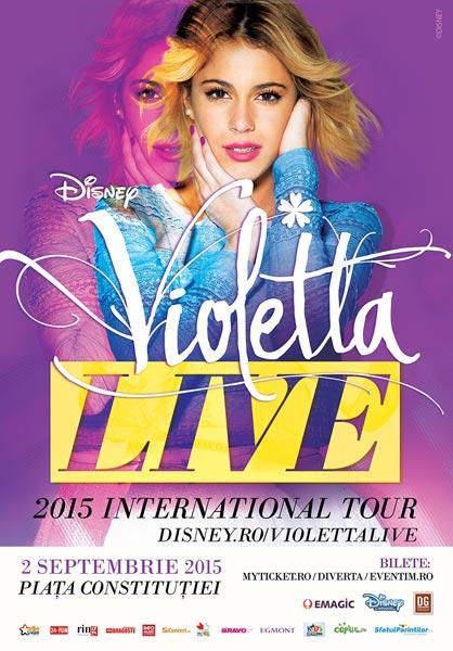 Violetta Live la Piața Constituției