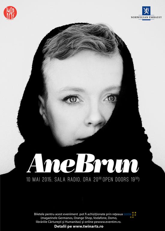 Afiș concert Ane Brun în Romania