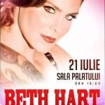 Afiș concert Beth Hart Romania 2015