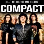 Afiş Compact concert la Hard Rock Cafe