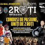 Afiș festival Iubim 2 Roți la Romexpo 2015