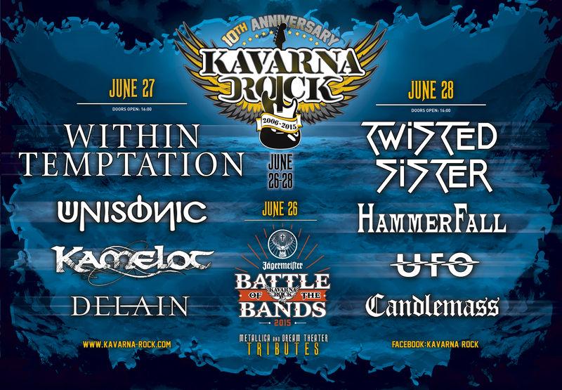 Afiș Kavarna Rock Festival 2015