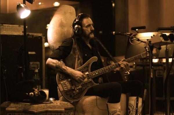 Lemmy (Motorhead) în studioul de înregistrări