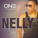 Afiș concert Nelly în Club One pe 2 aprilie 2015