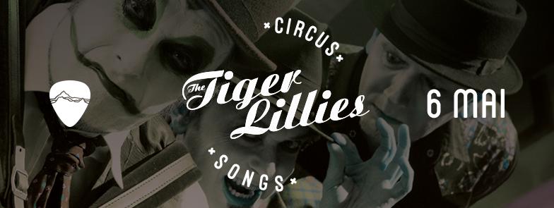Afiş concert The Tiger Lillies -Circus Song în Control Club