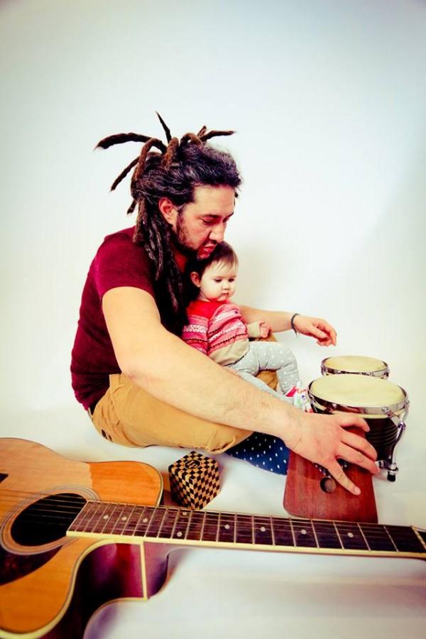 Bogdan El Negro şi fiica sa