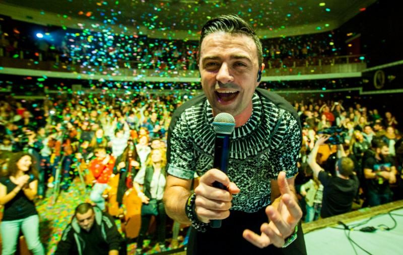 Vunk în concert la Chisinau - Turneu Inconjurul lumii