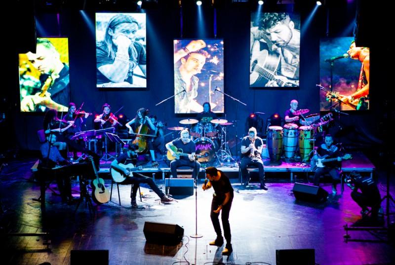 Vunk în concert la Galați - Înconjurul Lumii