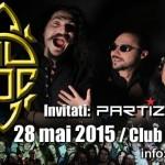 Afiş concert aniversar Ad Hoc la Colectiv pe 28 mai 2015