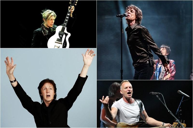Cei mai bogați cântăreți britanici în 2015