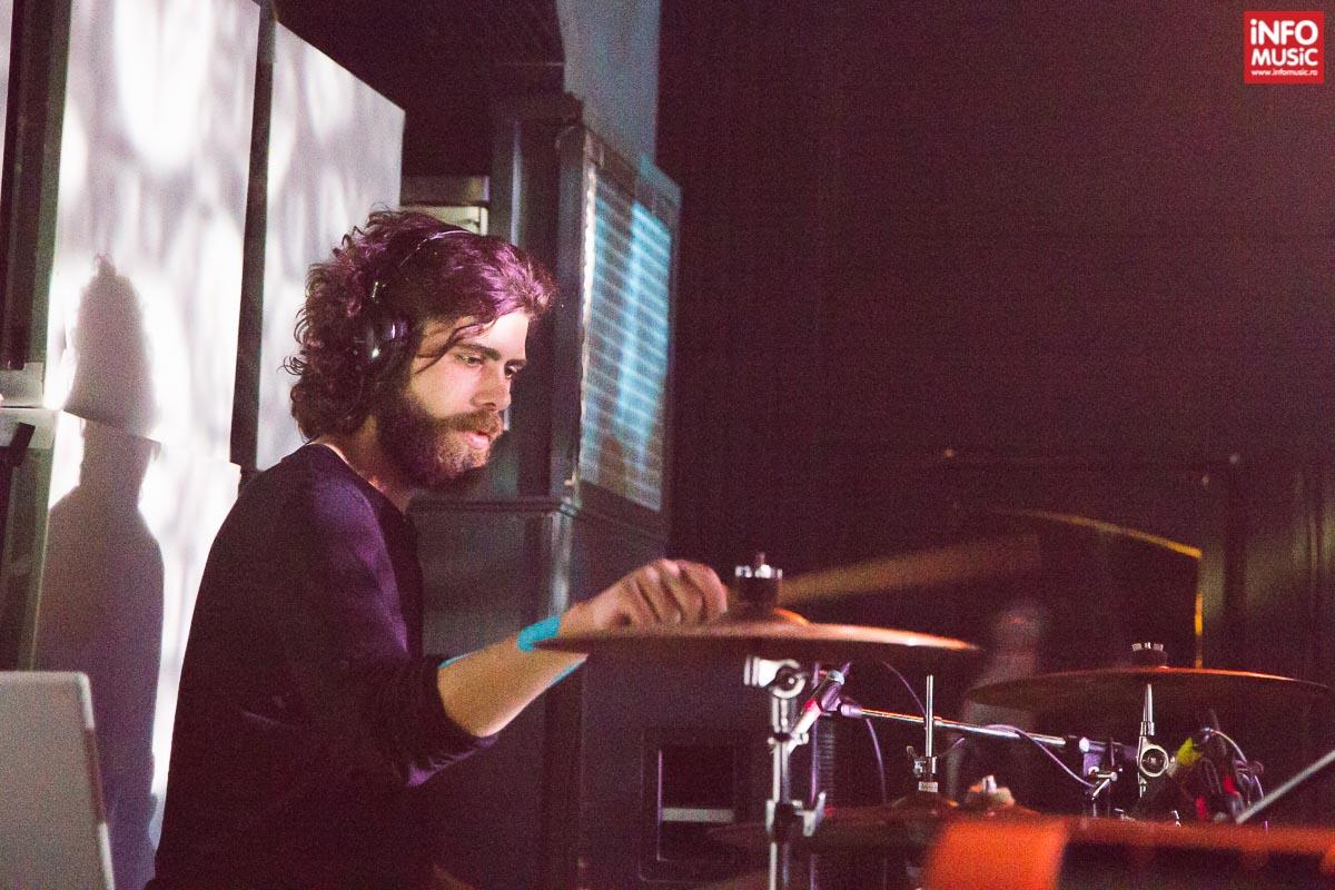 John Ciurea în concertul FIRMA din Club Control din Bucuresti pe 2 aprilie 2015