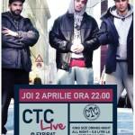 Afiș concert CTC în Expirat Club