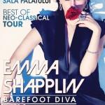 Afiş concert Emma Shapplin pe 30 octombrie 2015 la Sala Palatului