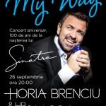 Afiș concert Horia Brenciu la Sala Palatului pe 26 septembrie 2015