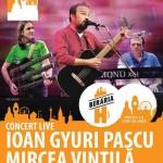 Afiș concert Ioan Gyuri Pascu și Mircea Vintilă la Berăria H pe 2 mai 2015