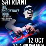 Afiș concert Joe Satriani în România 2015