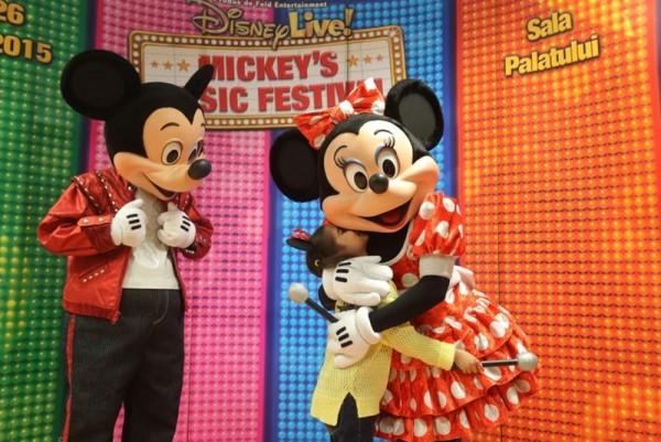 Mickey Mouse și Minnie Mouse