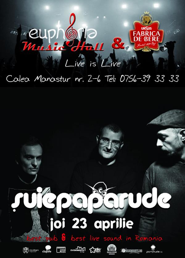 Afiş concert Şuie Paparude în Vama Veche 23 aprilie 2015