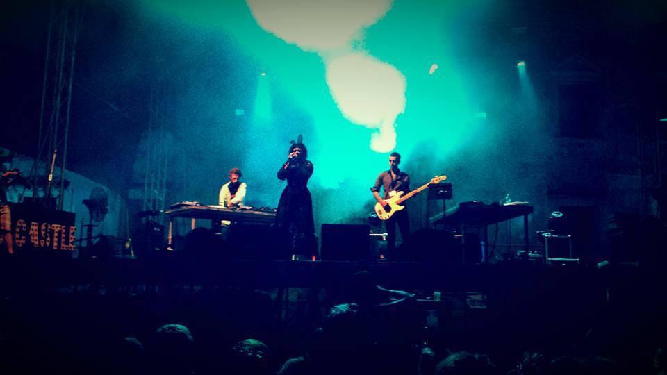 Afiş Telepopmusik concert în Colectiv 22 mai 2015