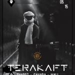 Afiş concert Terakaft în Control 1 mai 2015