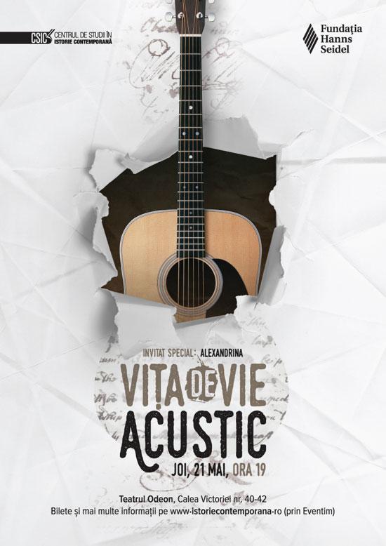 Afis concert Vita de Vie la Teatrul Odeon 21 mai 2015