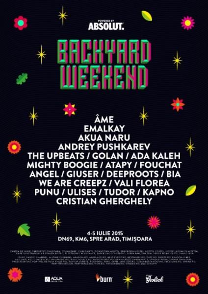 Backyard Festival 2015 - Timișoara