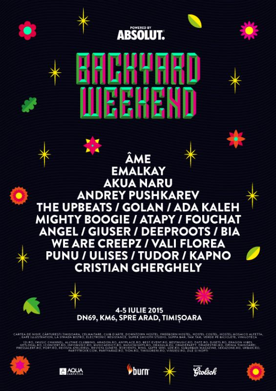 Backyard Festival 2015 - Timișoara