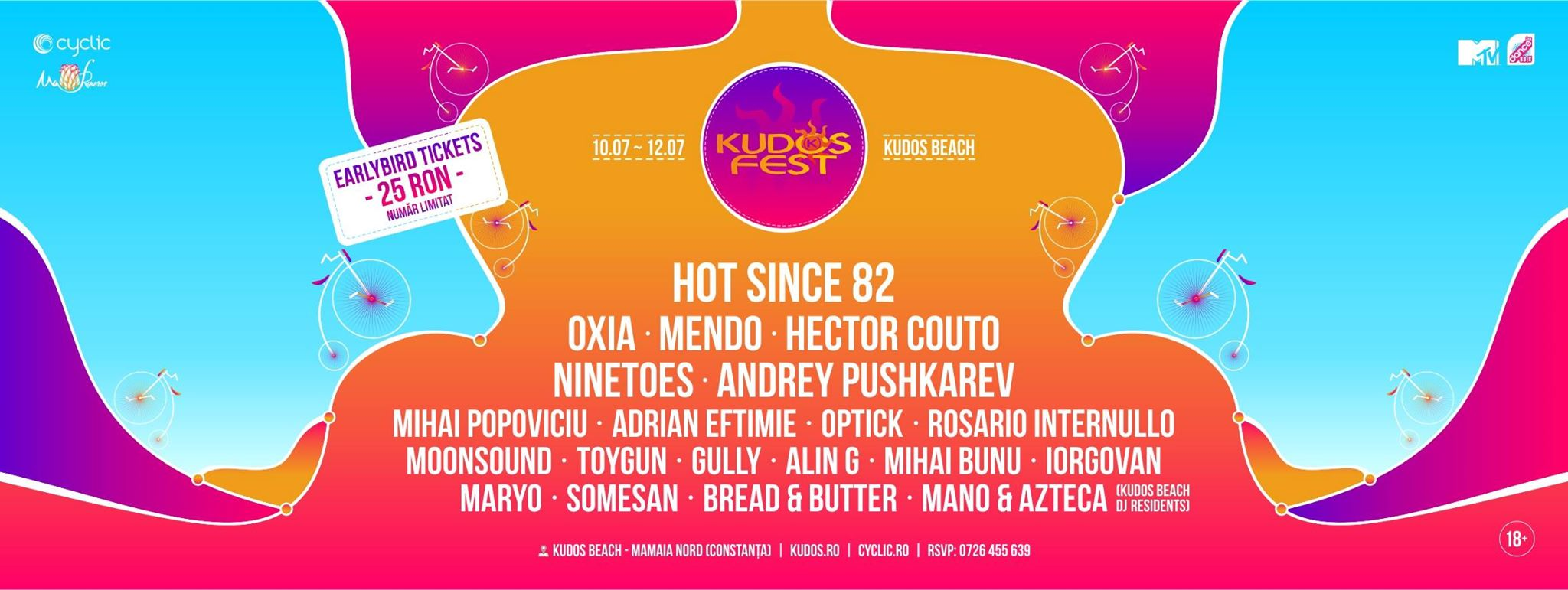 Kudos Festival - Mamaia - iulie 2015