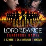 Afiş Lord of the dance - spectacol Constanţa 2015