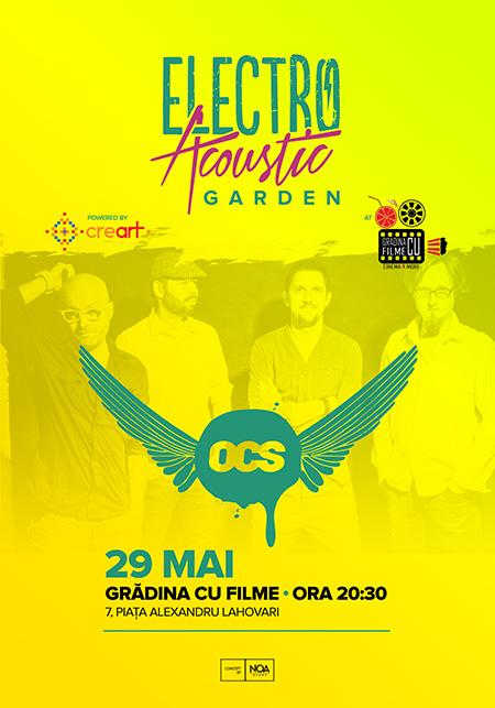 Afiș OCS concert în Grădina cu filme
