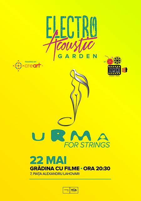 Afiș URMA concert în Grădina cu filme
