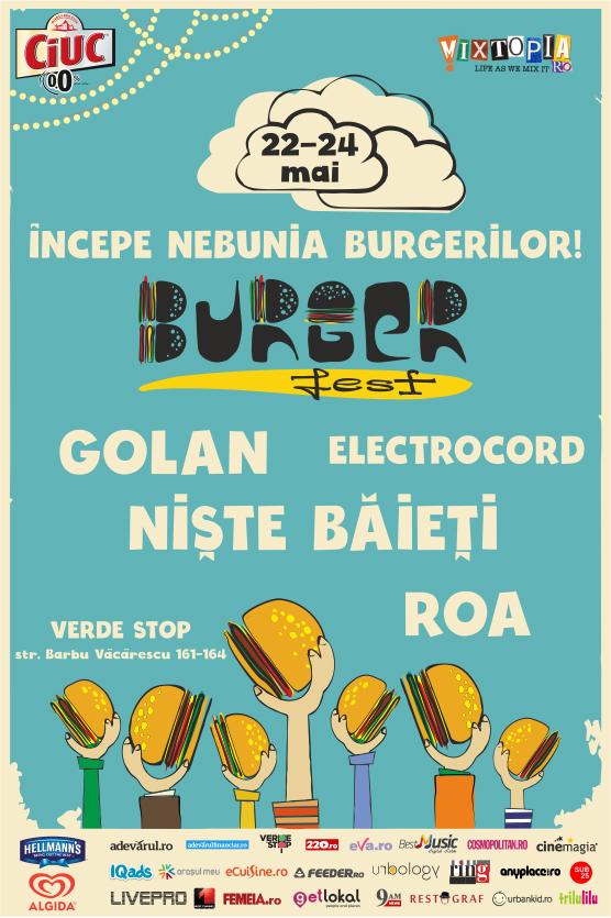 Afiș Burgerfest 2015